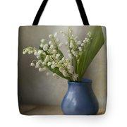 Still Life With Fresh Flowers Tote Bag by Jaroslaw Blaminsky
