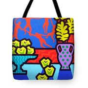 Still Life With Matisse Tote Bag by John  Nolan