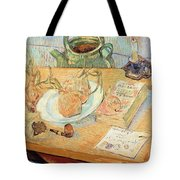 Still Life With Onions Tote Bag by Vincent van Gogh
