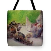 Still Life With Pheasants  Tote Bag by Pierre Auguste Renoir