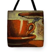 Still Life With Racing Bike Tote Bag by Mark Howard Jones