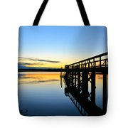 Stillness Tote Bag by Kelly Nowak