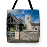 St.Marcellas Entrance Tote Bag by Adrian Evans