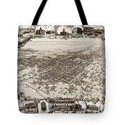 Stockton San Joaquin County California  1895 Tote Bag by California Views Mr Pat Hathaway Archives
