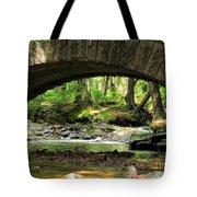 Stone Bridge II Tote Bag by Elizabeth Dow