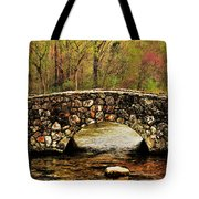 Stone Bridge In The Ozarks Tote Bag by Benjamin Yeager