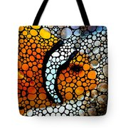 Stone Rock'd Clown Fish By Sharon Cummings Tote Bag by Sharon Cummings