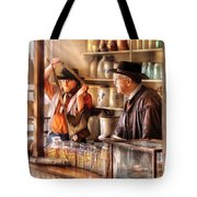 Store - The Messenger  Tote Bag by Mike Savad