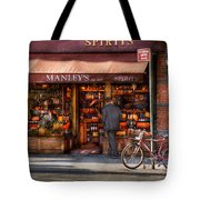 Store - Wine - NY - Chelsea - Wines and Spirits Est 1934  Tote Bag by Mike Savad