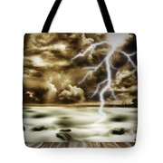 Storm Tote Bag by Les Cunliffe