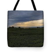Storm Over The Yakima Valley Tote Bag by Mike  Dawson