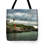 Storm Rolling In Tote Bag by Heather Applegate