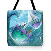 Stormy Weather Tote Bag by Peter Adderley