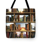 Storyworld Tote Bag by Cynthia Decker