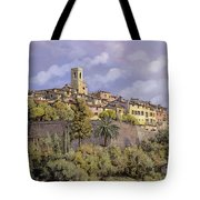 St.paul De Vence Tote Bag by Guido Borelli