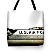 Stratojet Tote Bag by Benjamin Yeager