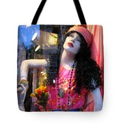 Strike A Pose Tote Bag by Colleen Kammerer
