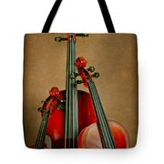 Stringed Trio Tote Bag by David and Carol Kelly