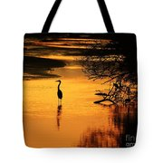 Sublime Silhouette Tote Bag by Al Powell Photography USA