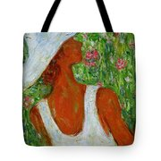 Summer Blush Tote Bag by Xueling Zou