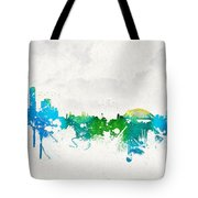 Summer Day In Sydney Australia Tote Bag by Aged Pixel