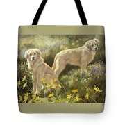 Summer Day Tote Bag by Lucie Bilodeau