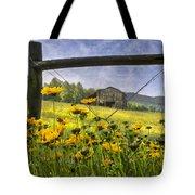 Summer Fields Tote Bag by Debra and Dave Vanderlaan