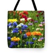 Summer Flowers Tote Bag by Elena Elisseeva