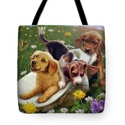 Summer Frolics Tote Bag by Andrew Farley