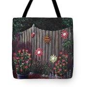 Summer Garden Tote Bag by Anastasiya Malakhova