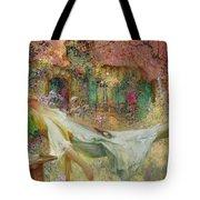 Summer In The Garden Tote Bag by Darien Henri-Gaston