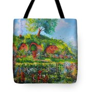 Summer In The Shire Tote Bag by Joe  Gilronan