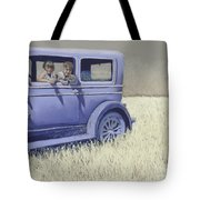 Summer Of '29 Tote Bag by Tracy L Teeter