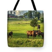 Summer On The Farm Tote Bag by Bill  Wakeley
