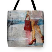 Summer Rain  Tote Bag by Jani Freimann
