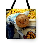 SUMMER SQUASH Tote Bag by KAREN WILES