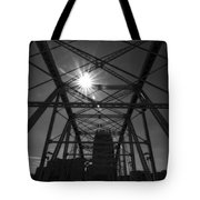 Summer Sun On Shelby Street Bridge Tote Bag by Dan Sproul