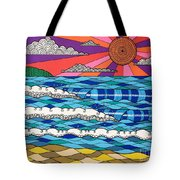 Summer Vibes Tote Bag by Susan Claire