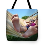 Summertime And The Livin' Is Easy Tote Bag by Laura Fasulo