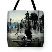 Summertime Fun Tote Bag by Avis  Noelle