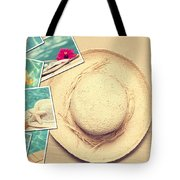 Summertime Postcards Tote Bag by Amanda And Christopher Elwell