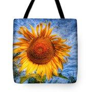 Sun Flower Tote Bag by Adrian Evans