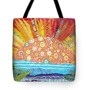 Sun Glory Tote Bag by Susan Rienzo