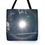 Sun Halo Tote Bag by Lainie Wrightson