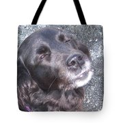 Sun in my eyes Tote Bag by Hilde Widerberg