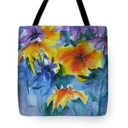Sun Splashes Tote Bag by Anne Duke