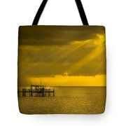Sunbeams Of Hope Tote Bag by Marvin Spates