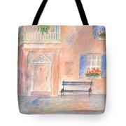 Sunday Morning In Charleston Tote Bag by Ben Kiger