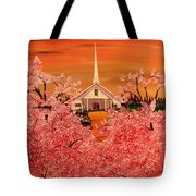 Sunday Morning Tote Bag by Mark Moore