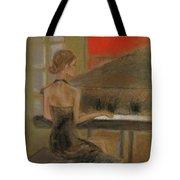 Sunday Recital Tote Bag by C Pichura